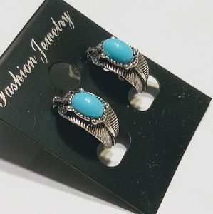 Turquoise Vintage💲Loop Earrings